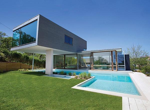 Villa somptueuse avec piscine long island pikkeo - Maison du monde long island ...
