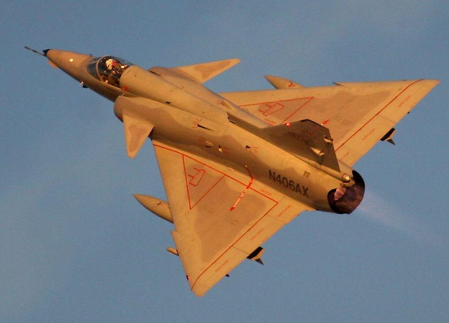Avion de combat IAI Kfir