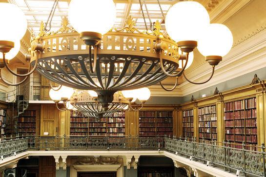 Bilbliothèque Victoria and Albert Museum à Londres