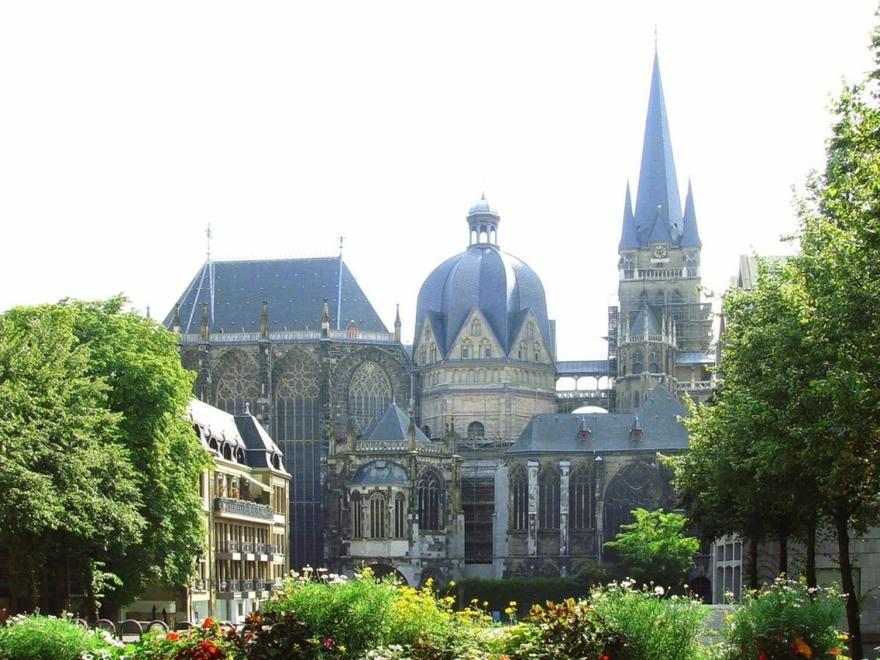 Cathédrale d'Aix-la-Chapelle en Allemagne