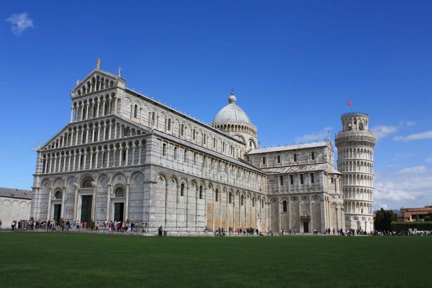 Cathédrale Notre-Dame de l'Assomption de Pise en Italie