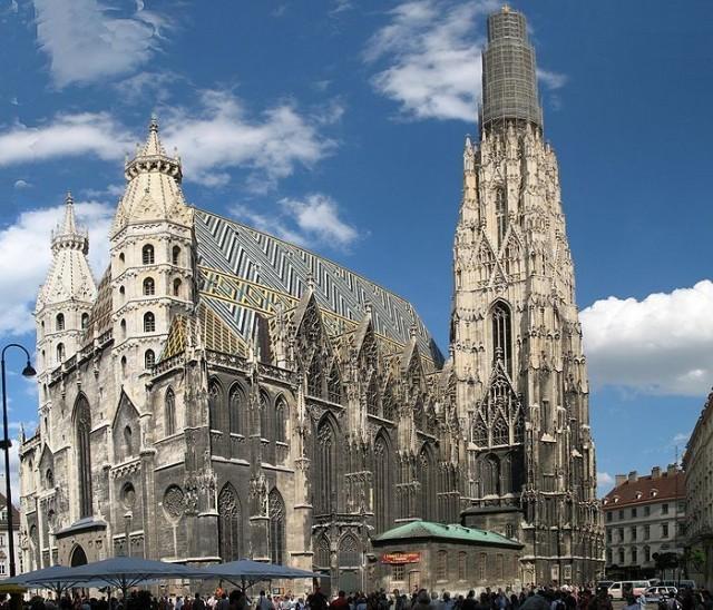Cathédrale Saint-Étienne de Vienne en Autriche
