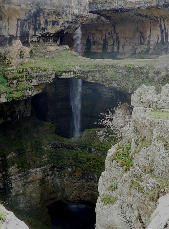 Caverne de Baloo Baatara au Liban