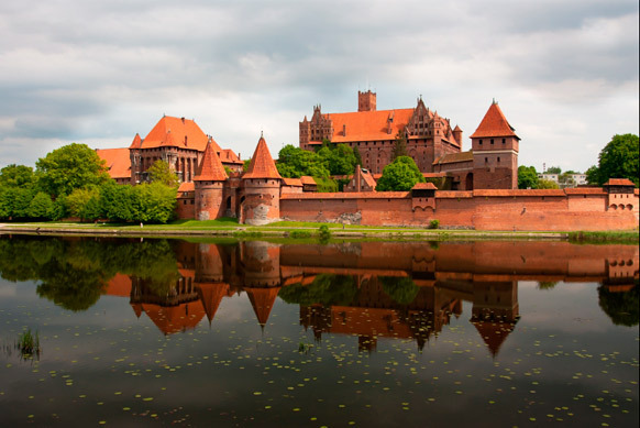 Château de Malbork, Pologne