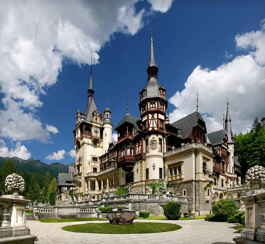 Château de Peles en Roumanie