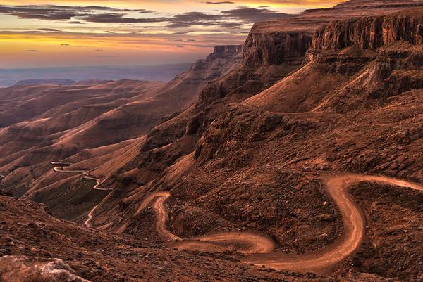 Col de Sani en Afrique du Sud