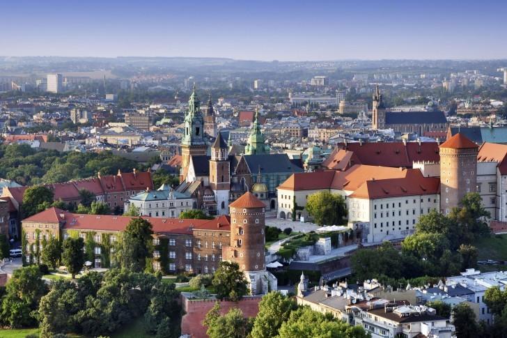 Cracovie en Pologne