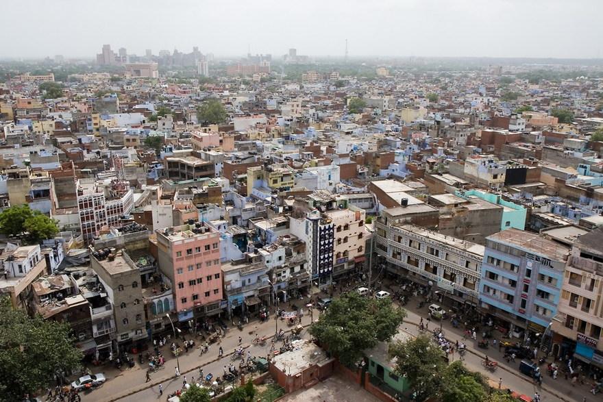 Delhi en Inde