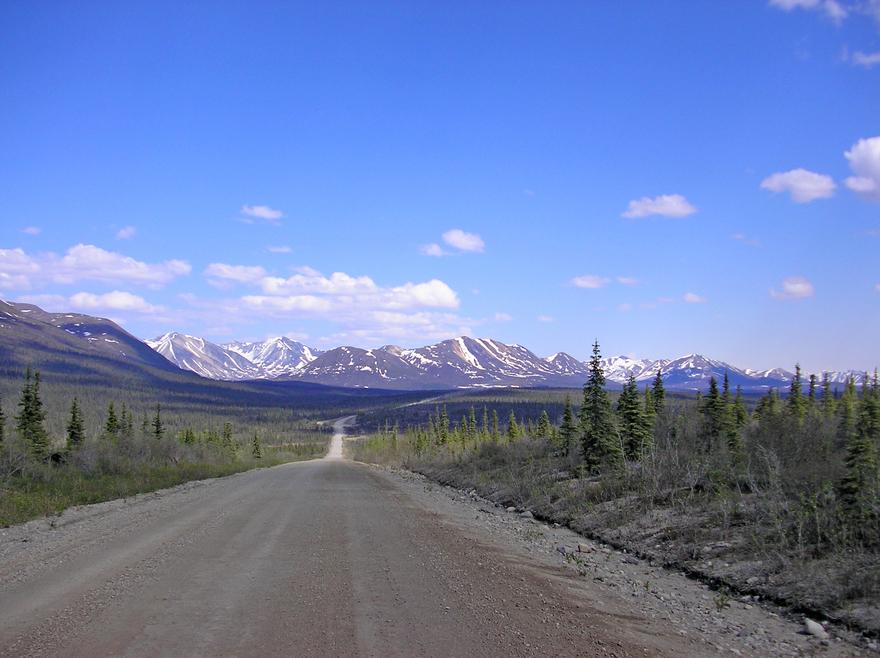 Denali Highway en Alaska