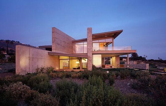 Design tourné vers l'extérieur en Californie