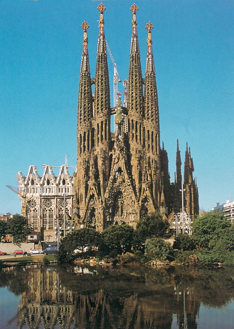 Eglise La Sagrada Família Espagne