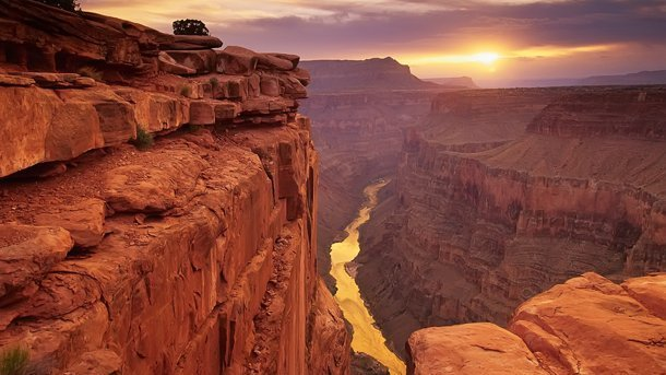 Grand Canyon en Arizona