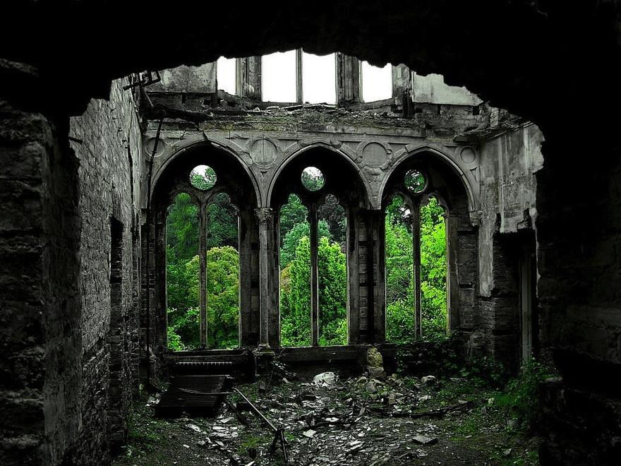 Hafodunos Hall à Llangernyw dans le Nord du Pays de Galles