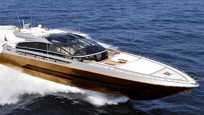 History Supreme yacht