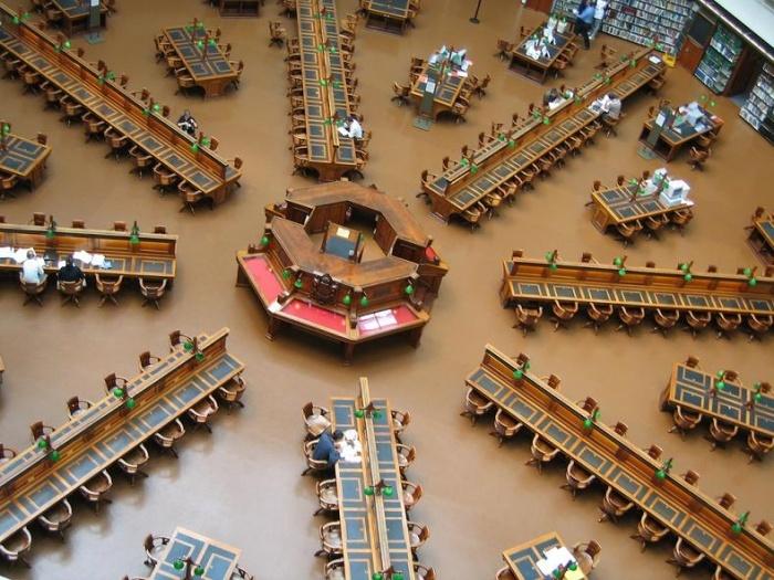 Bibliothèque d'État du Victoria à Melbourne