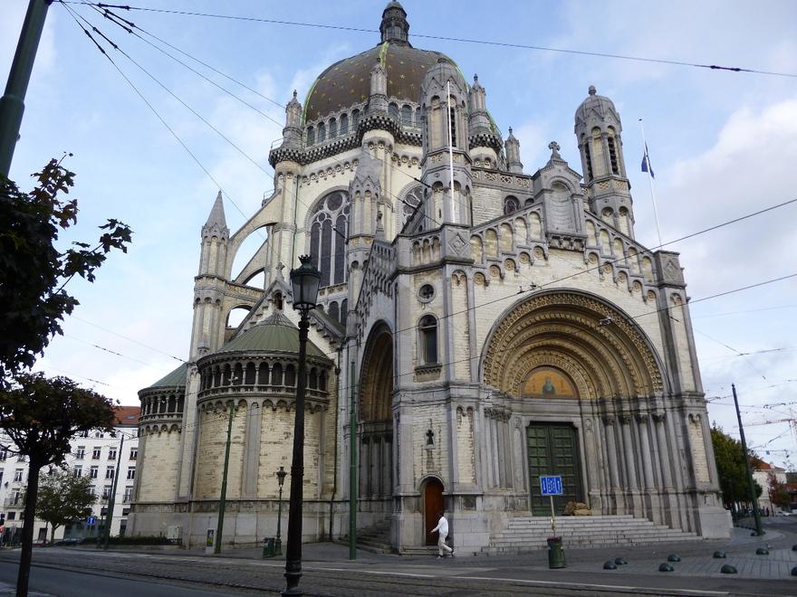 L'église royale Sainte-Marie à Schaarbeek en Belgique