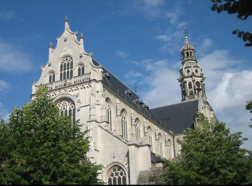 L'église Saint Paul, à Anvers