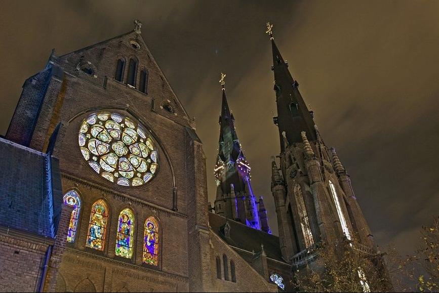 L'église Sainte-Catherine à Eindhoven au Pays-Bas