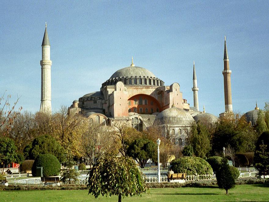 L'église Sainte-Sophie en Turquie