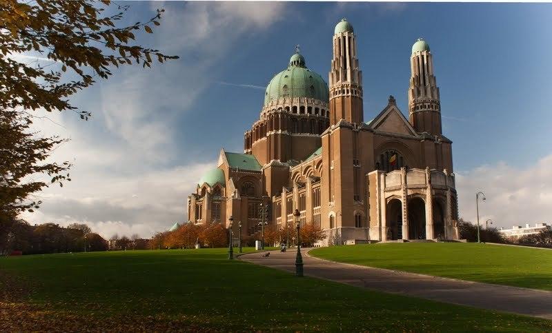 La basilique de Koekelberg à Bruxelles