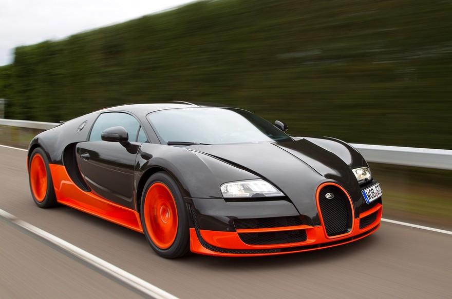 La Bugatti Veyron Super Sport