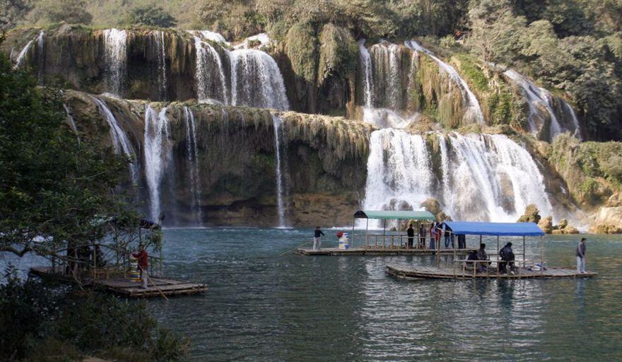 La cascade Thac Ban Gioc au Vietnam
