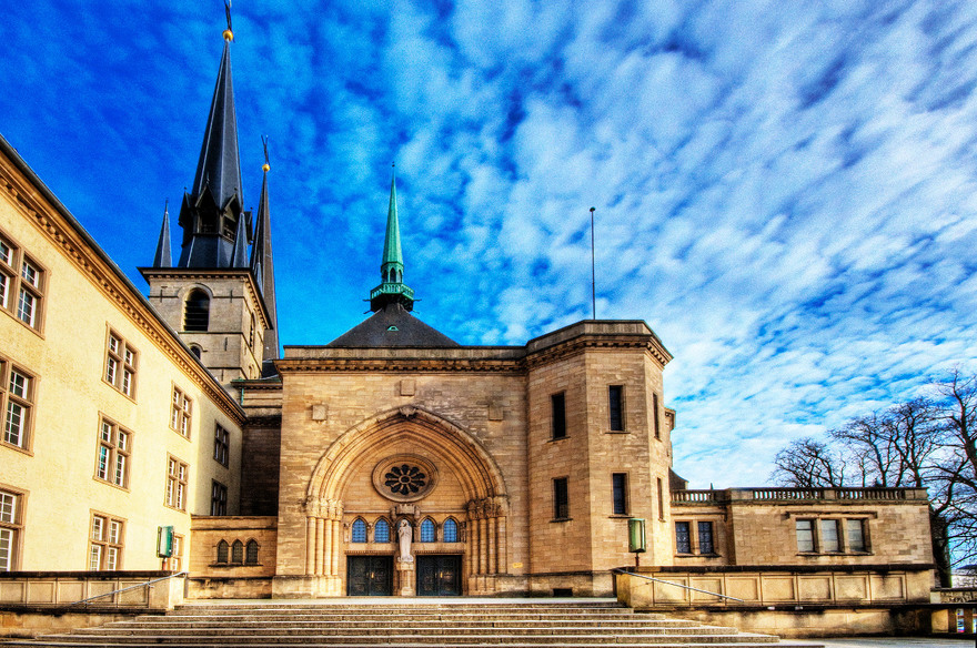 La cathédrale Notre-Dame à Luxembourg