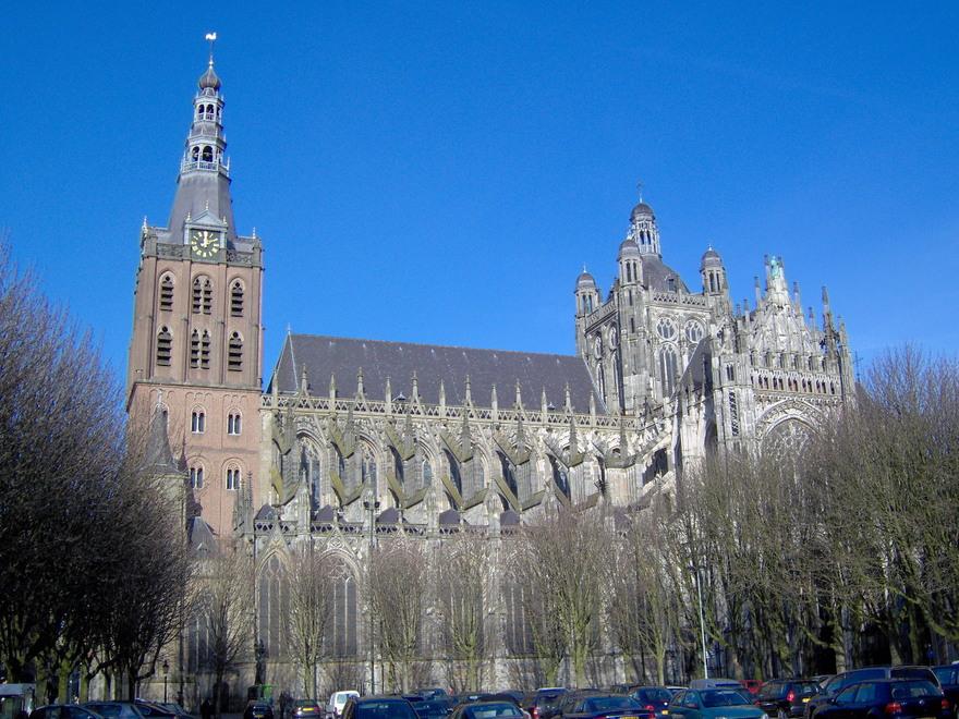 La cathédrale Saint Jean, à Bois-le-Duc au Pays-Bas