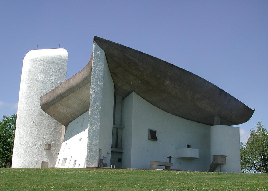 La chapelle Notre-Dame-du-Haut en France
