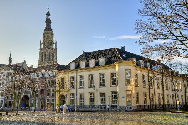 La Grote Kerk (Grande Eglise) de Bréda, aux Pays-Bas