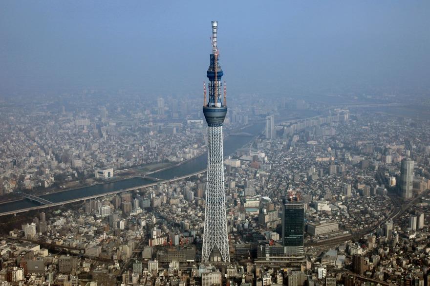 La tour Sky Tree à Tokyo