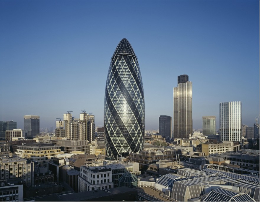 La tour Swiss Re à Londres