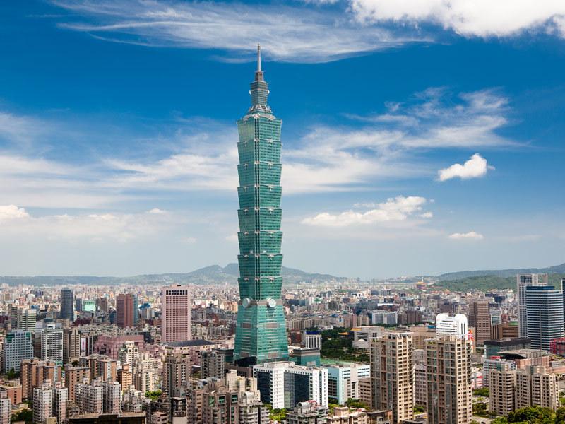 La tour Taipei à Taïwan