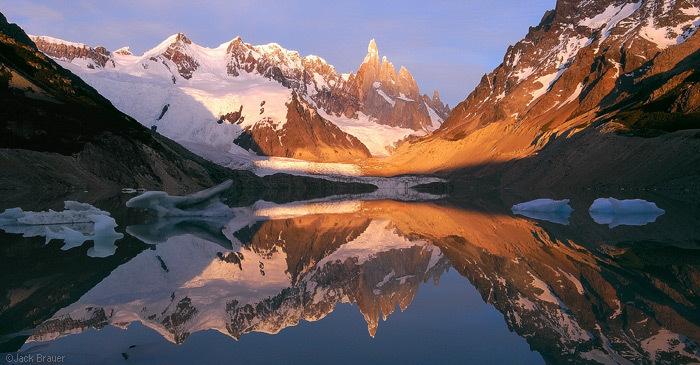 Lago Torre en Argentine