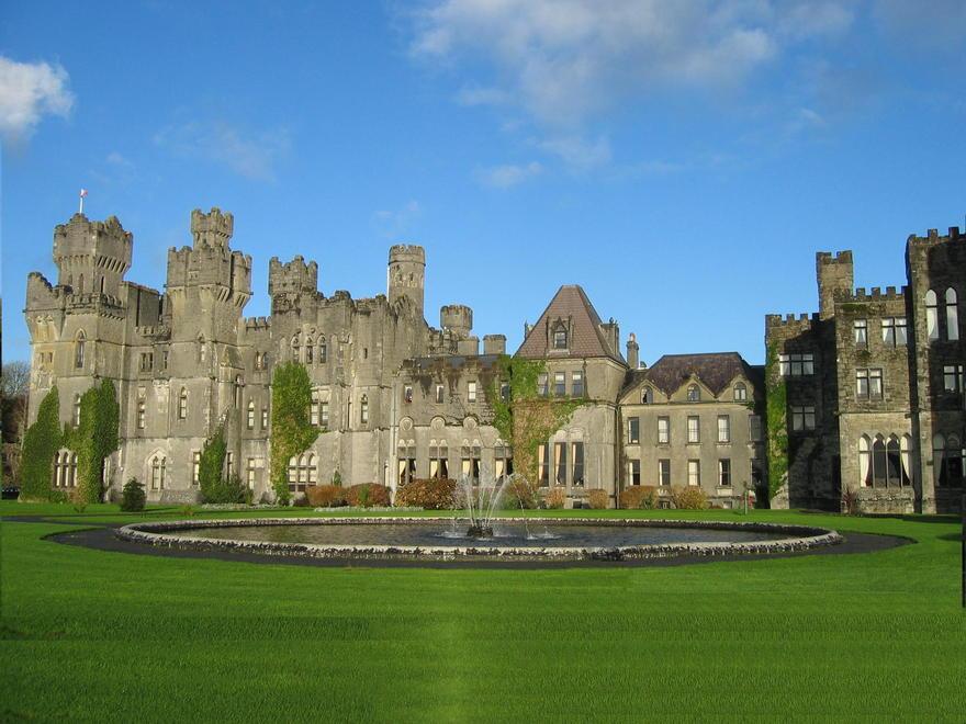 Le château d'Ashford en Irlande