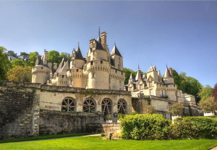 Le château d'Ussé en France