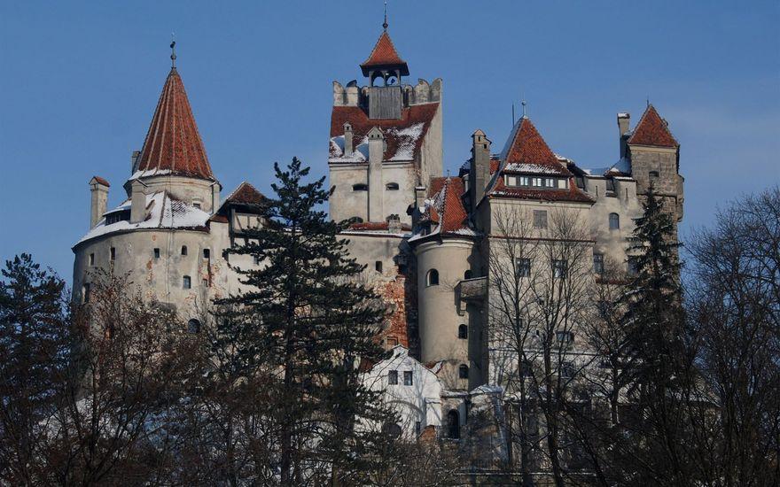 Le château de Bran en Transylvanie