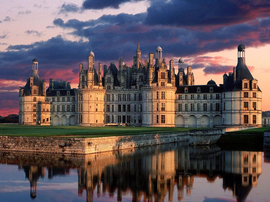 Le château de Chambord en France