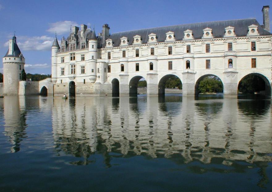 Le château de Chenonceau - France
