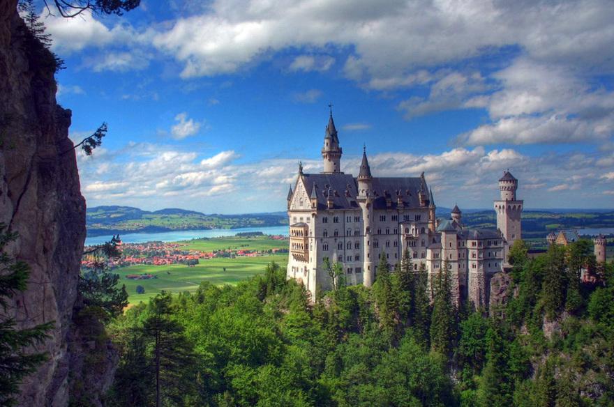 Le château de Neuschwanstein en Allemagne