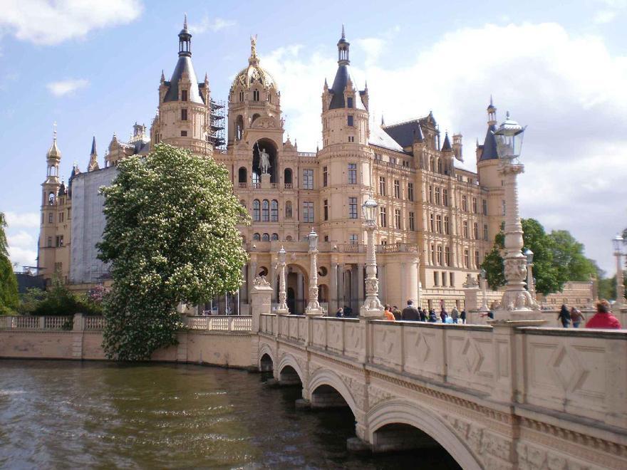 Le château de Schwerin en Allemagne