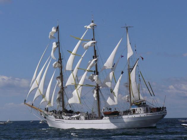 Le Cuauhtemoc, grand voilier mexicain