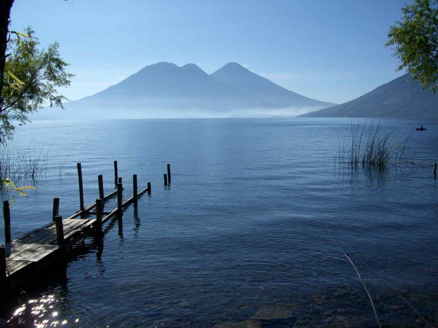 Le lac Atitlan, au Guatemala