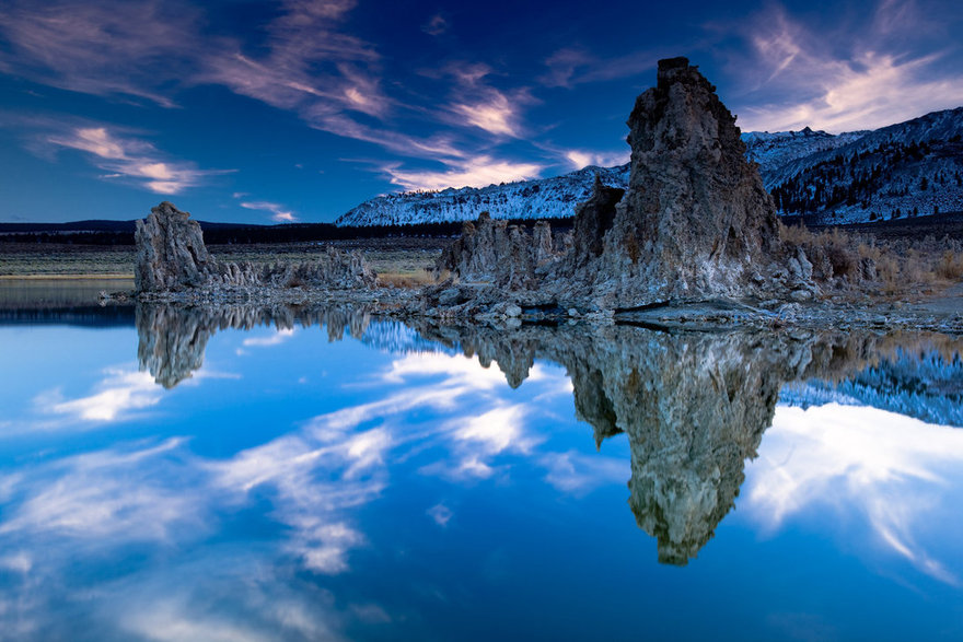 Le Mono lake aux Etats-Unis
