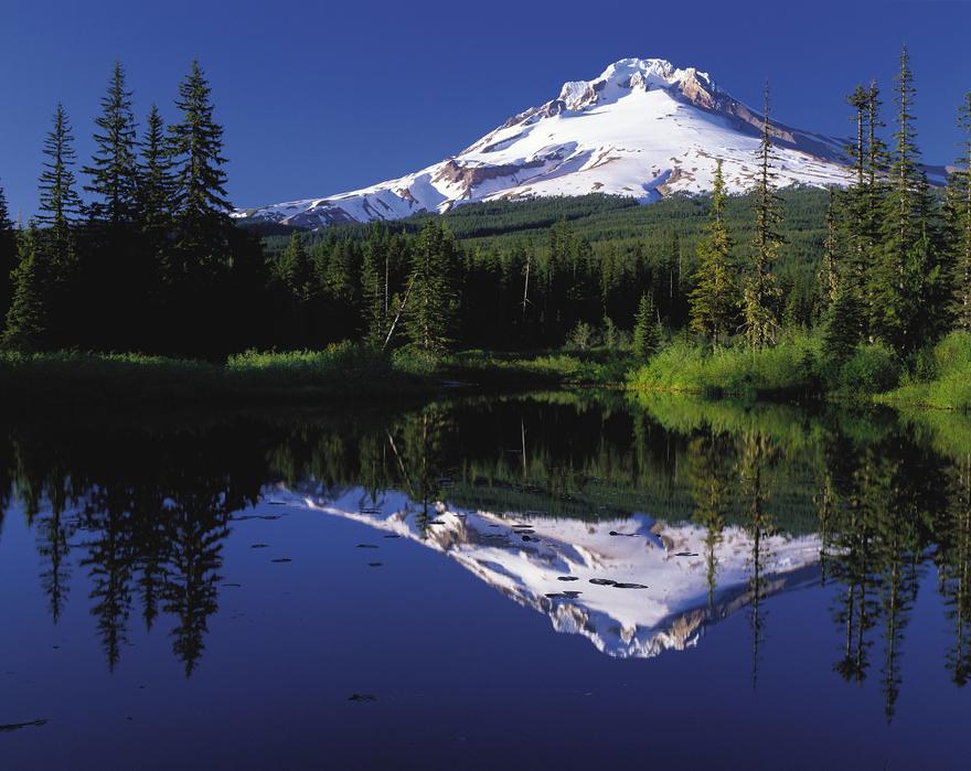 Le mont Hood en Oregon, USA