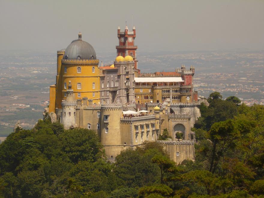 Le Palais de Pena au Portugal
