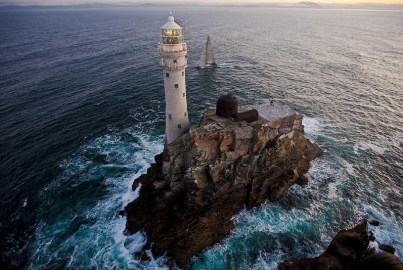 Le phare de Fastnet en Irlande