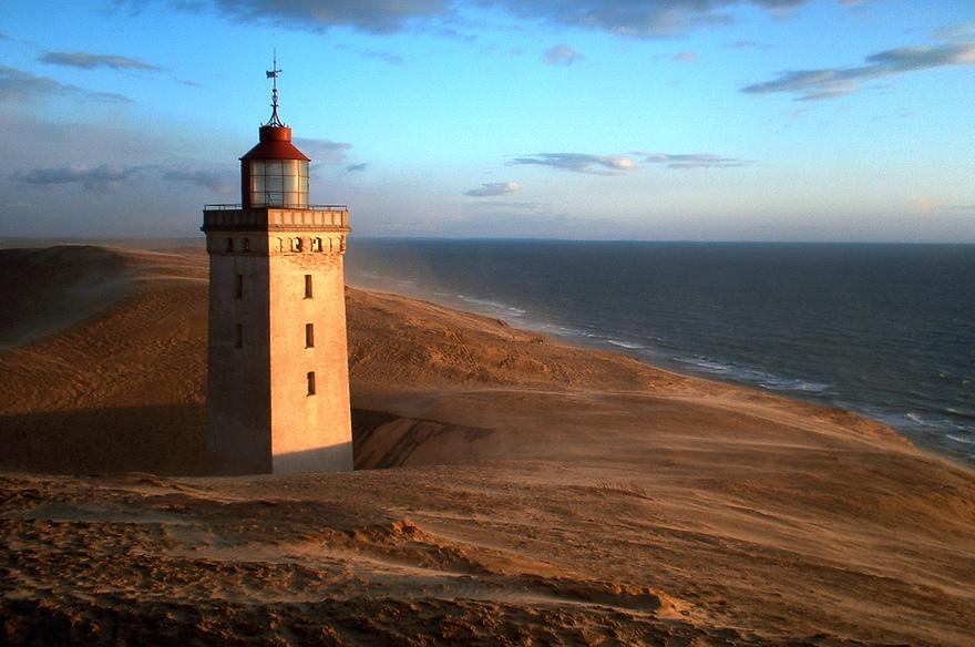 Le phare de Rubjerg Knude, Danemark