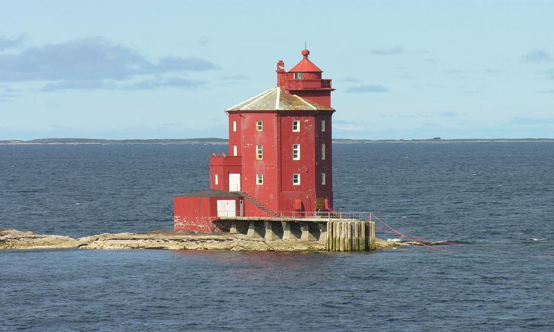 Le phare Kjeungskjaer en Norvège