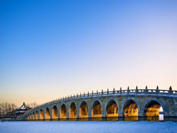 Le pont aux Dix-sept Arches à Pékin
